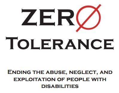 Zero Tolerance Apd Agency For Persons With Disabilities State Of Florida